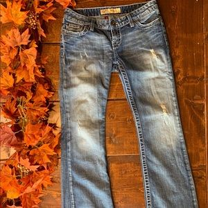 BKE Distressed Stella Jeans